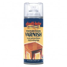 PlastiKote Varnish Spray 400ml Gloss