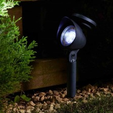 Solar Powered Prima Garden Spot Light (4 Pack)