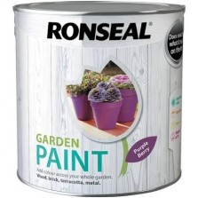 Ronseal Garden Paint 2.5L Purple Berry
