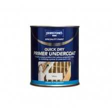 Johnstones Quick Dry Primer Undercoat 250ml White