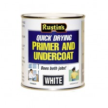 Rustins Quick Dry Primer & Undercoat 500ml White