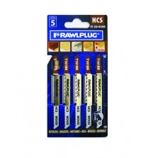 Rawlplug Wood Laminate Jigsaw Blades (5 Pack)