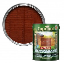 Cuprinol 5 Year Ducksback 5L Rich Cedar