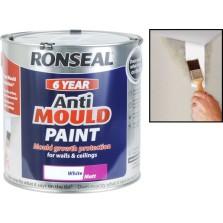 Ronseal Anti-Mould 750ml White Matt