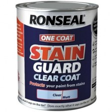 Ronseal One Coat Stain Guard 2.5l Clear Matt