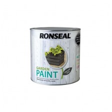 Ronseal Garden Paint 250ml Charcoal Grey