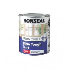 Ronseal Stays White Ultra Tough Gloss Paint 2.5L White