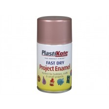 PlastiKote Spray Paint 100ml Rose Gold