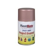 PlastiKote Spray Paint 100ml Rose Gold