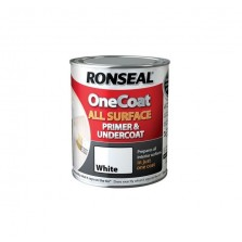 Ronseal One Coat All Surface Primer & Undercoat 2.5L White