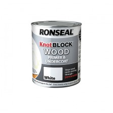 Ronseal Knot Block Primer & Undercoat 2.5L White