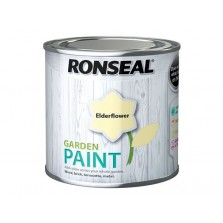 Ronseal Garden Paint 250ml Elderflower
