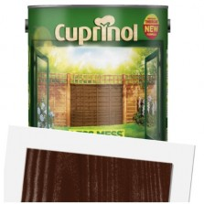 Cuprinol Less Mess Fence Care 6L Rustic Brown