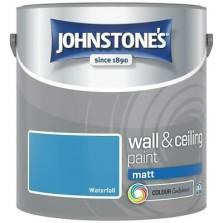 Johnstones Vinyl Emulsion Paint 2.5L Waterfall Matt