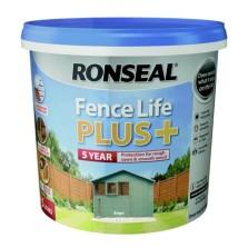 Ronseal Fence Life Plus + 5L Sage