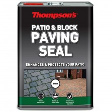Thompsons Patio & Block Paving Seal 5L Satin