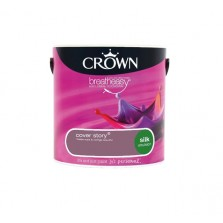 Crown Breathe Easy Emulsion Paint 2.5L Cover Story (Silk)