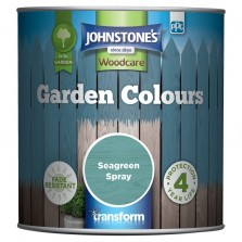 Johnstones Garden Colours Paint 1L Seagreen Spray