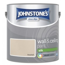 Johnstones Vinyl Emulsion Paint 2.5L Seashell Silk
