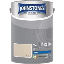 Johnstones Vinyl Emulsion Paint 5L Seashell Matt