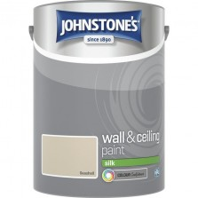 Johnstones Vinyl Emulsion Paint 5L Sea Shell (Silk)