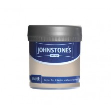 Johnstones Vinyl Emulsion Tester Pot 75ml Sea Shell (Matt)