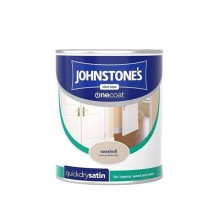 Johnstones Quick Dry Satin Paint 750ml Seashell