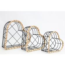 Heart Basket Small (21cm x 10cm)