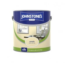 Johnstones Vinyl Emulsion Paint 2.5L Camellia (Silk)