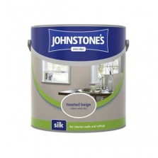 Johnstones Vinyl Emulsion Paint 5L Toasted Beige (Silk)