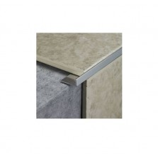 Tile Rite 2.4m x 12mm Tile Trim (Silver)