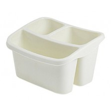 Whitefurze Sink Organiser Cream