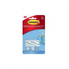 Command Hooks Small Clear (2 Pack)