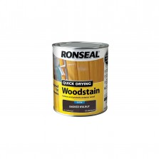 Ronseal Quick Drying Woodstain Satin 250ml Smoked Walnut
