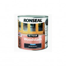 Ronseal 10 Year Woodstain Smoked Walnut Satin 750ml