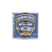 Hammerite Metal Paint 250ml Smooth Silver