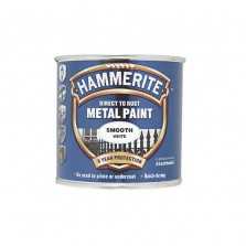 Hammerite Metal Paint 250ml Smooth White