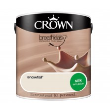 Crown Emulsion Paint 2.5L Snowfall Silk