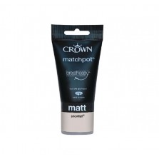 Crown Emulsion Paint Tester Pot 40ml Snowfall (Matt)