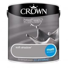 Crown Emulsion Paint 2.5L Soft Shadow Matt
