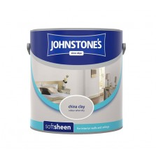 Johnstones Vinyl Emulsion Paint 2.5L China Clay (Soft Sheen)