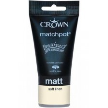 Crown Tester Pot 40ml Soft Linen Matt