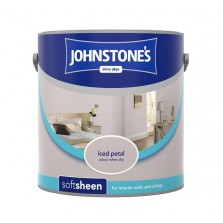 Johnstones Vinyl Emulsion Paint 2.5L Iced Petal (Soft Sheen)