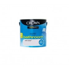 Crown Bathroom Paint 2.5L Soft Steel (Mid-sheen)