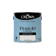 Crown Period Colours Emulsion Paint 2.5L Smoked Oyster (Matt)