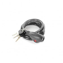 Securit S1220 Spiral Cable Lock With 3 Keys 1500mm