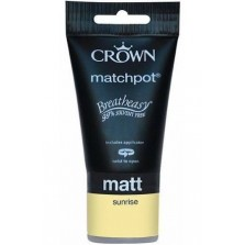 Crown Tester Pot 40ml Sunrise Matt