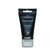 Crown Emulsion Paint Tester Pot 40ml Stepping Stone (Matt)