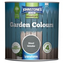 Johnstones Garden Colours Paint 1L Steel Smoke