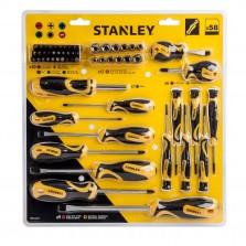 Stanley Screwdriver Set (58 Piece)